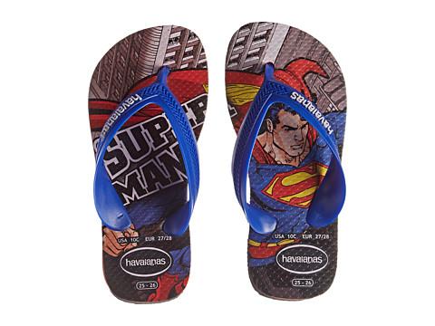 Havaianas Kids - Max Heroes (Toddler/Little Kid/Big Kid) (Black/Red) Boys Shoes