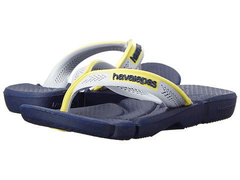 Havaianas Kids - Power (Toddler/Little Kid/Big Kid) (Navy Blue/Navy Blue) Boy