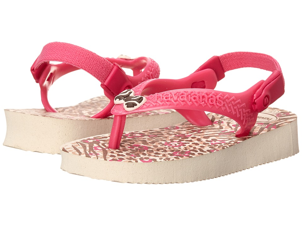 Havaianas Kids - Chic (Toddler) (Beige) Girls Shoes