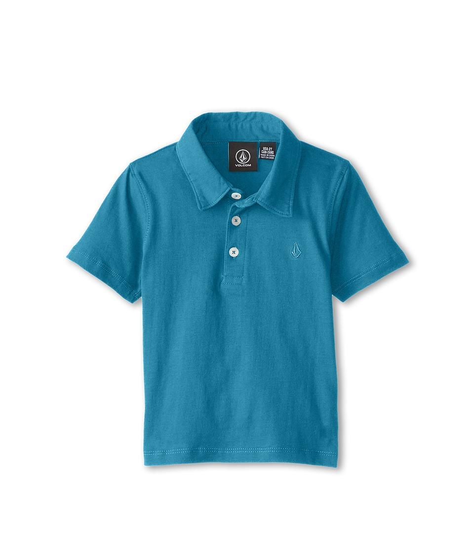 Volcom Kids - Wowzer Polo (Toddler/Little Kids) (Atlantic) Boy