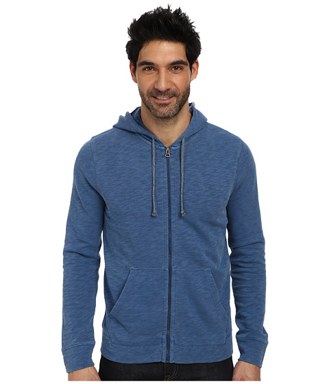 Lucky Brand - Full-Zip Hoodie (Dark Blue) Men's Sweatshirt