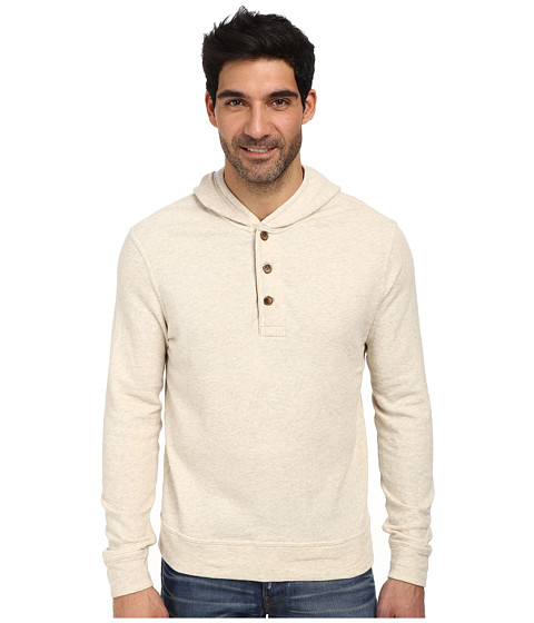 Lucky Brand - Popover Hoodie (Oatmeal) Men