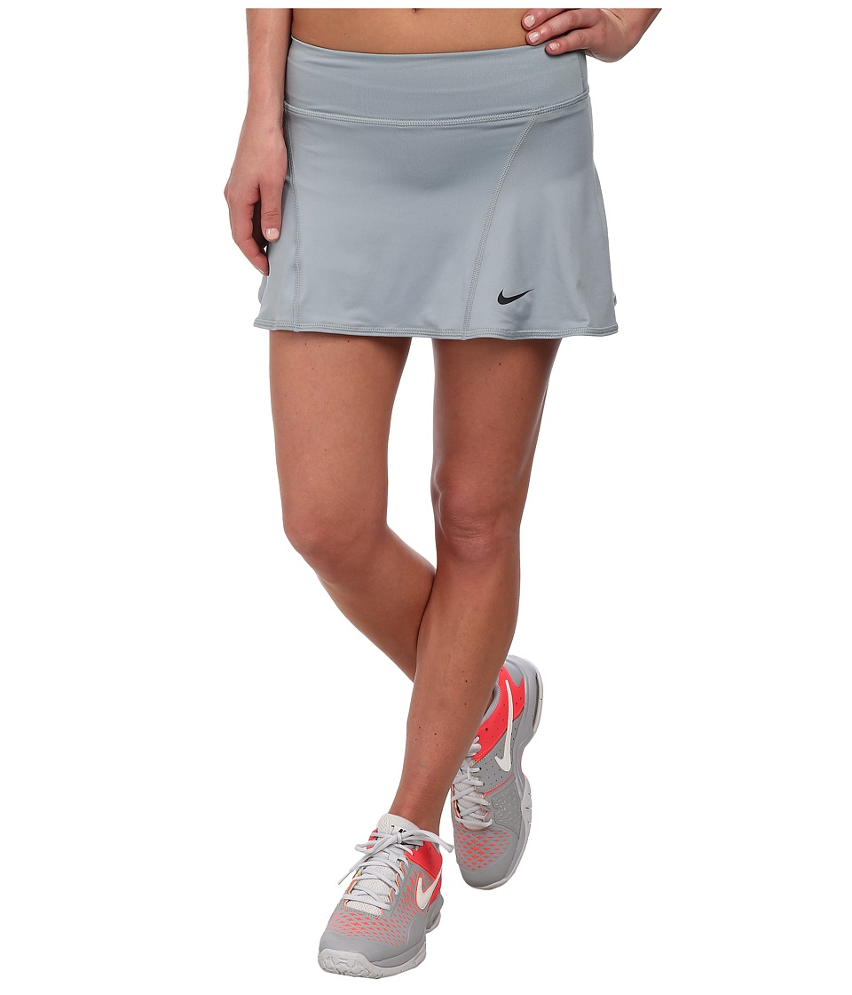 Nike - Flouncy Knit Skort (Dove Grey/Dove Grey/Black) Women's Skort