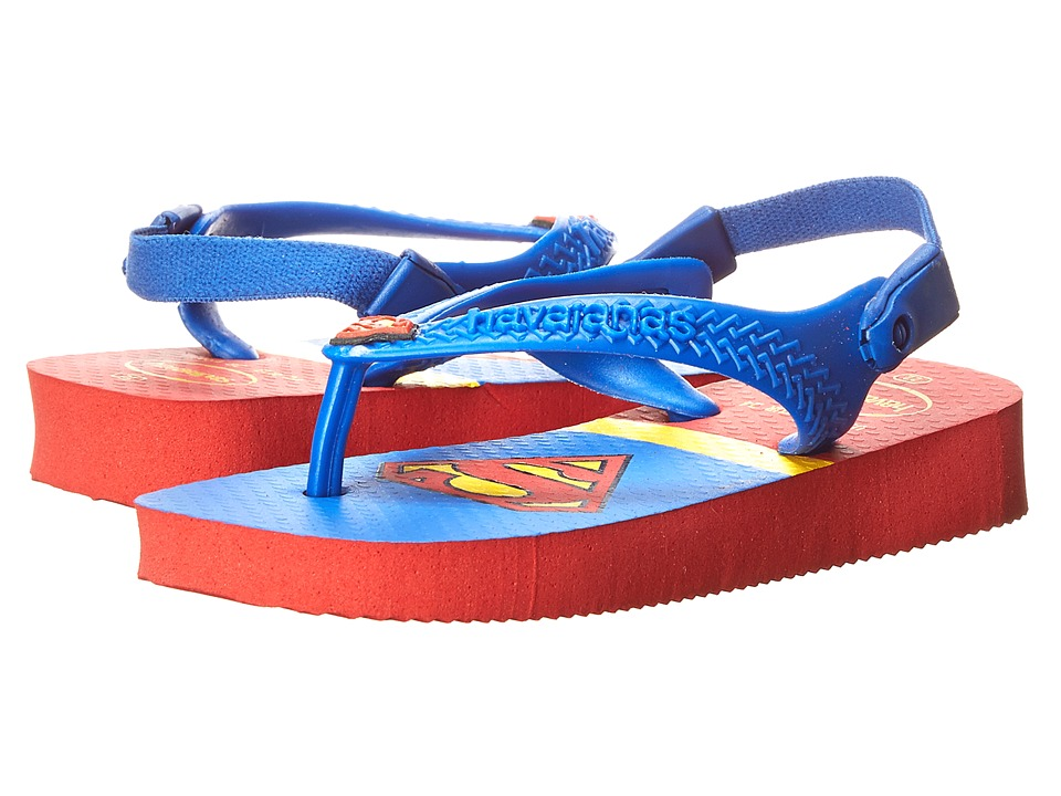 Havaianas Kids - Heroes (Toddler) (Ruby Red) Boys Shoes