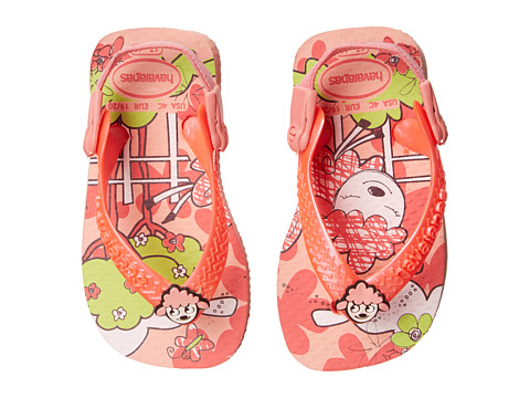 Havaianas Kids - Baby Pets (Toddler) (Light Pink/Coral) Girl