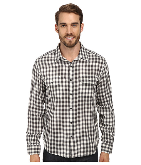 Lucky Brand - Mad Max Two-Pocket Shirt (Multi Plaid) Men's Short Sleeve Button Up