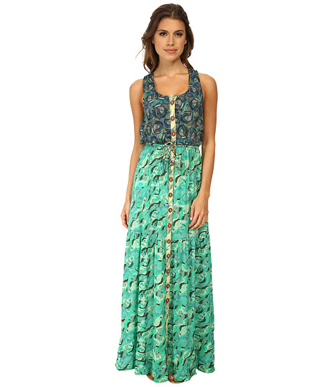Maaji - Orchard Run Long Dress Cover-Up (Multi) Women