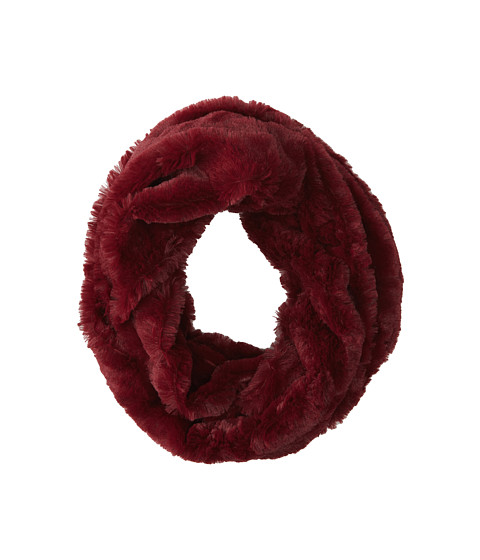 Gabriella Rocha - Eskimo's Kiss Faux Fur Infinity Scarf (Wine) Scarves