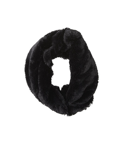 Gabriella Rocha - Eskimo's Kiss Faux Fur Infinity Scarf (Black) Scarves