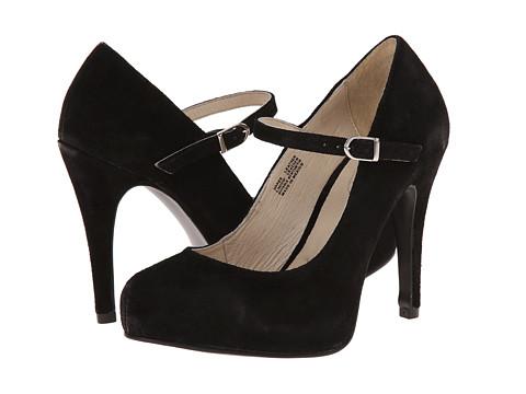 Fitzwell - Patsie (Black Suede) High Heels