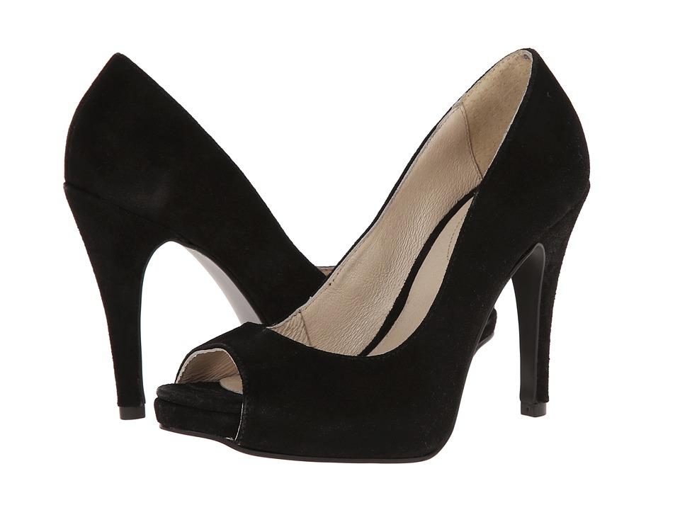 Fitzwell - Teresa (Black Suede) High Heels
