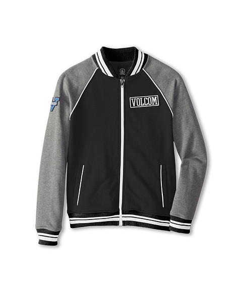 Volcom Kids - Rex Varsity Jacket (Little Kids/Big Kids) (Black) Boy's Jacket