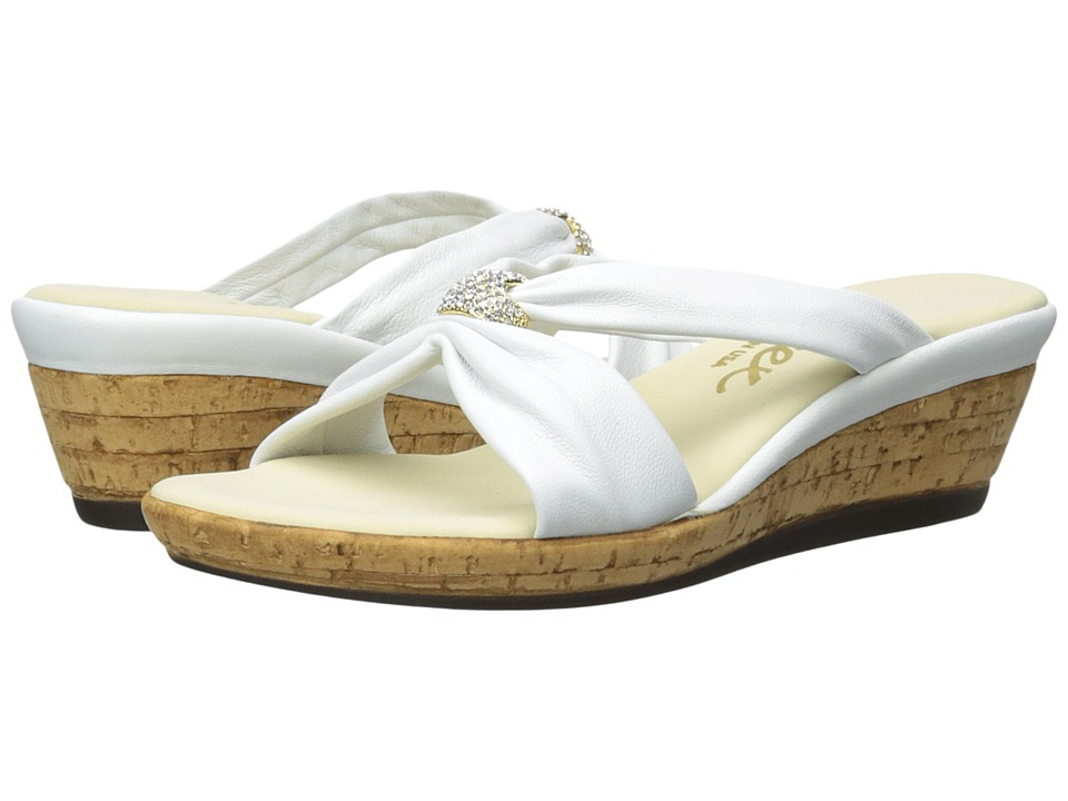 Onex - Stephanie (White) Women's Wedge Shoes