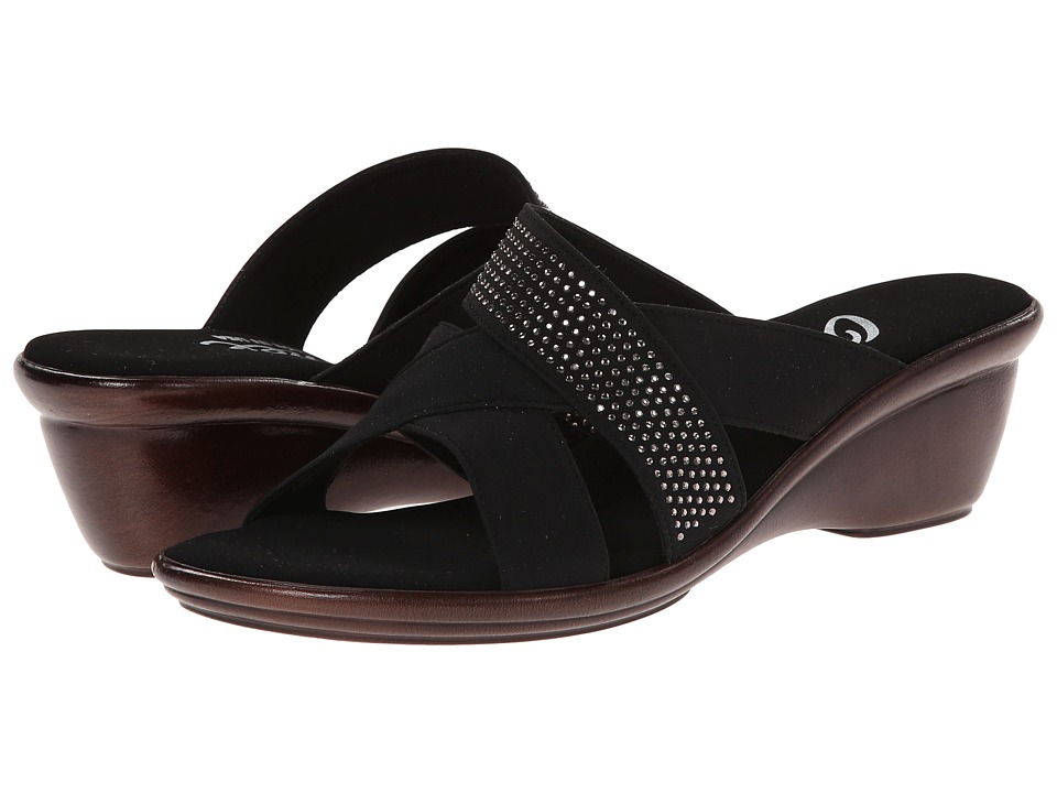 Onex - Ariel (Black) Women's Wedge Shoes