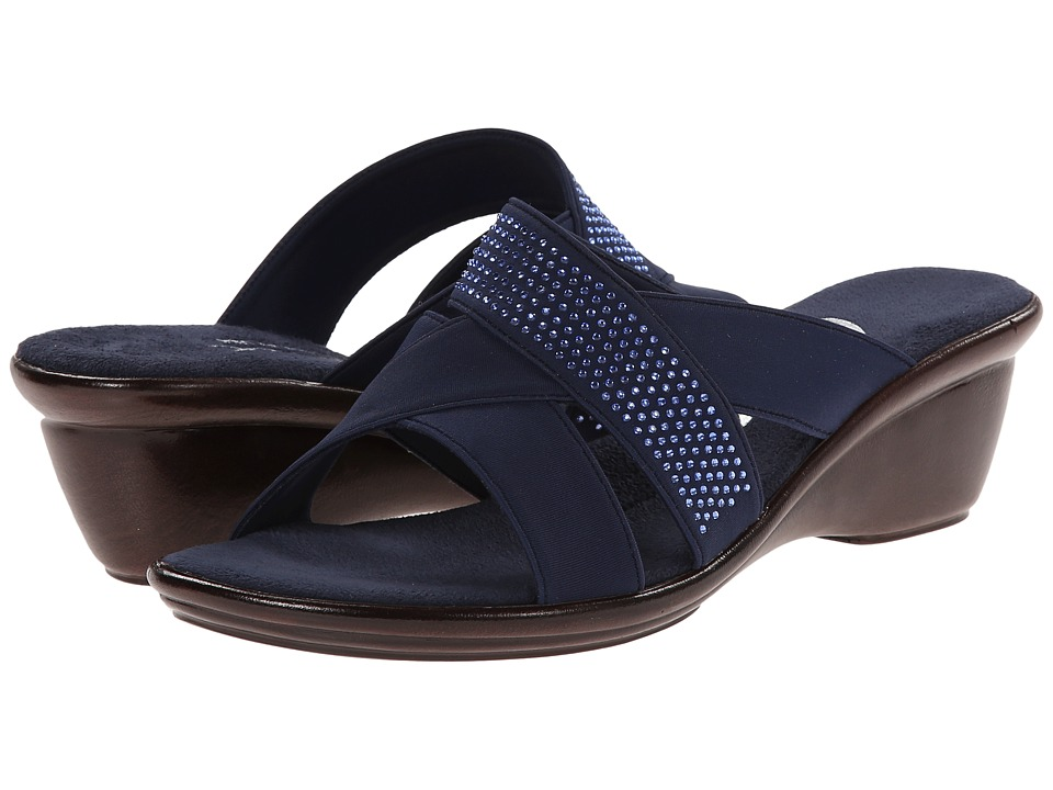 Onex - Ariel (Navy) Women's Wedge Shoes