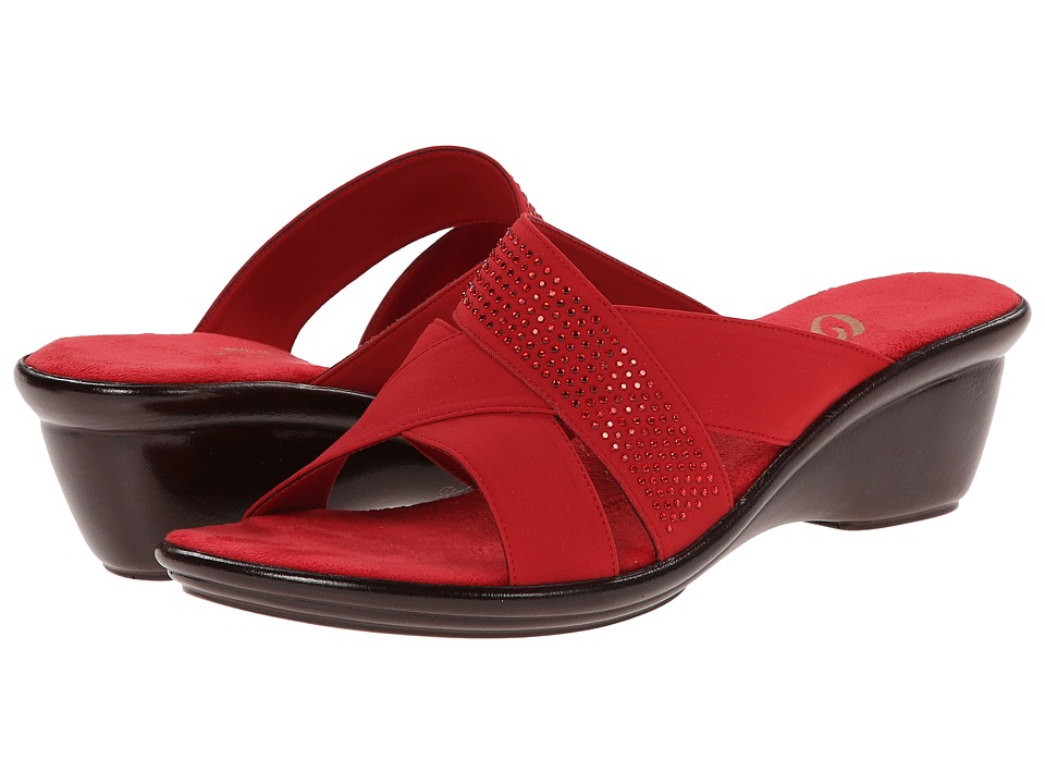 Onex - Ariel (Red) Women's Wedge Shoes