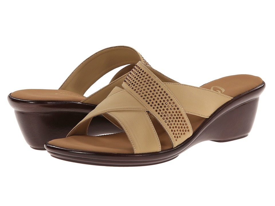 Onex - Ariel (Tan) Women's Wedge Shoes
