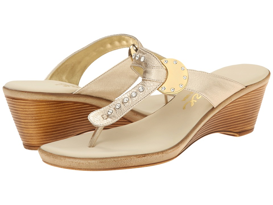 Onex - Sun (Platinum) Women's Wedge Shoes