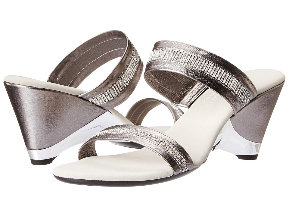 Onex - Stunning (Pewter) Women's Wedge Shoes