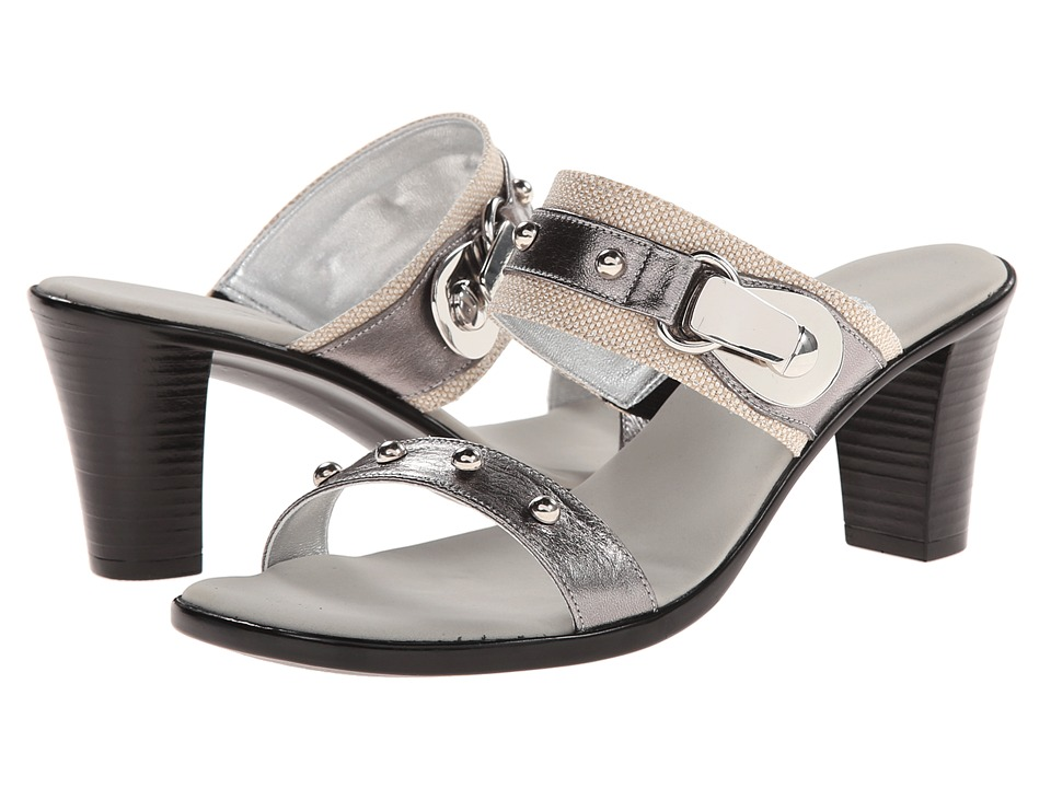 Onex - Penelope (Pewter) Women's Wedge Shoes