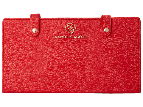 Kendra Scott - Jet Set Jewelry Organizer (Red Faux Stingray) Jewelry Sets