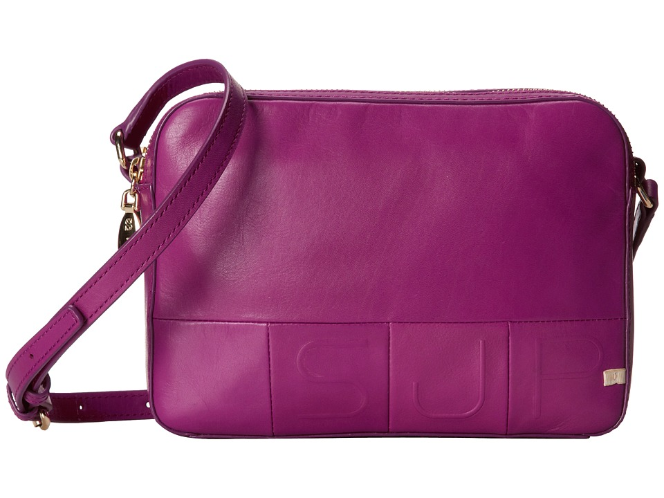 SJP by Sarah Jessica Parker - Charlton (Fuchsia Leather) Handbags