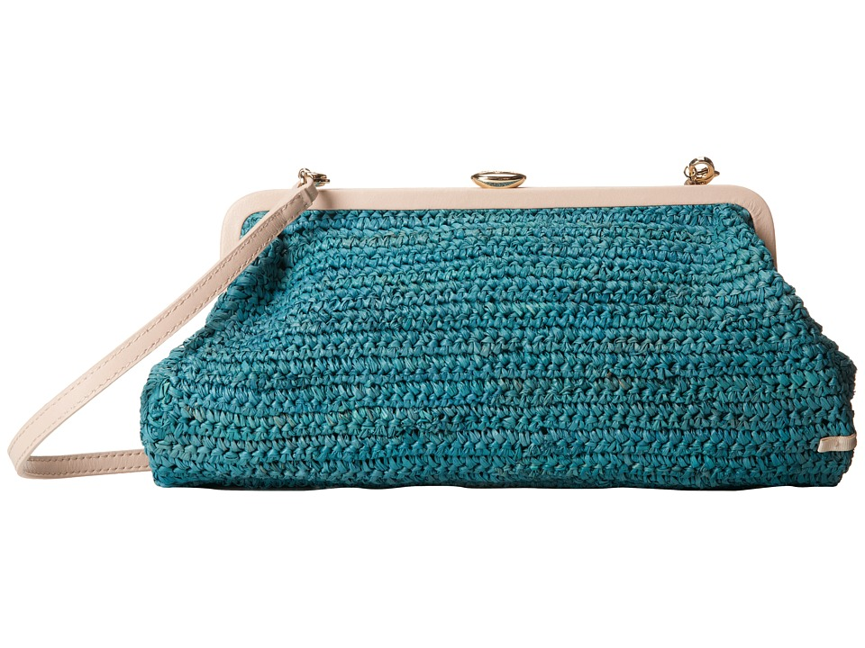 SJP by Sarah Jessica Parker - Beekman (Aqua Rafia) Handbags