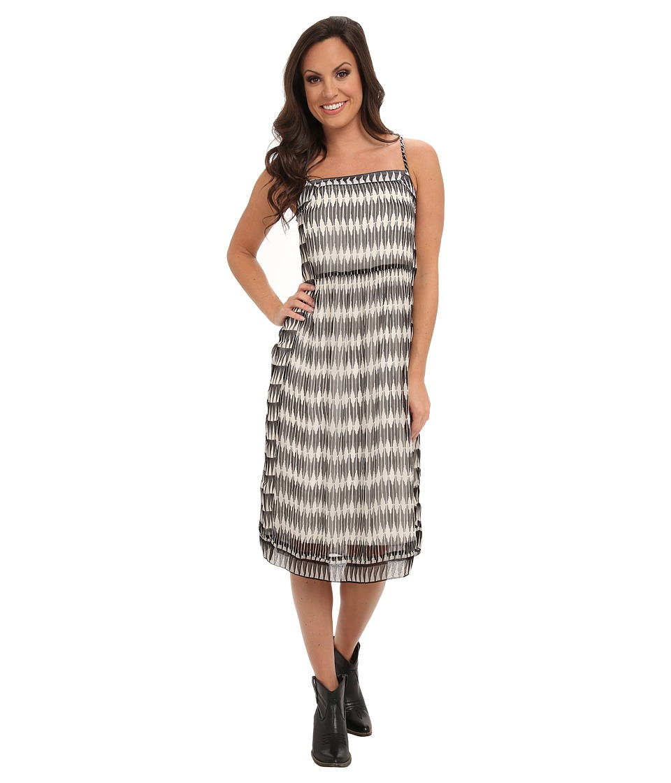 Lucky Brand - Ingenue Dress (Black Multi) Women's Dress