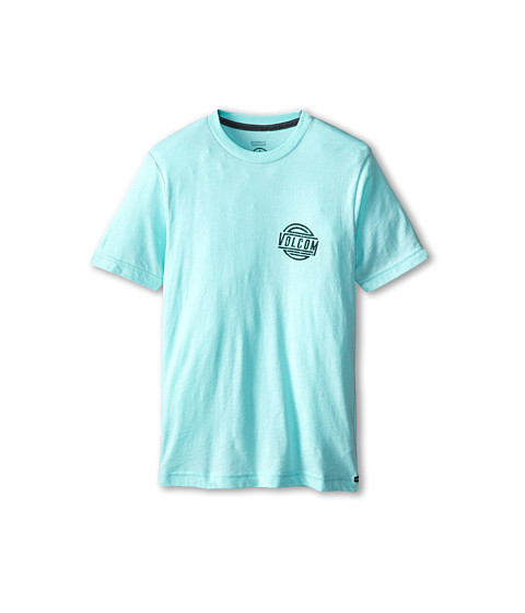 Volcom Kids - Shot Put S/S Tee (Big Kids) (Artic Blue Heather) Boy