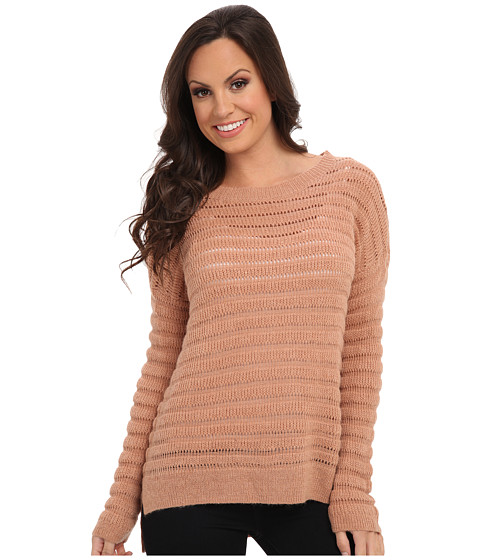 Lucky Brand - Blush Pullover (Dusty Sweater Pink) Women's Sweater