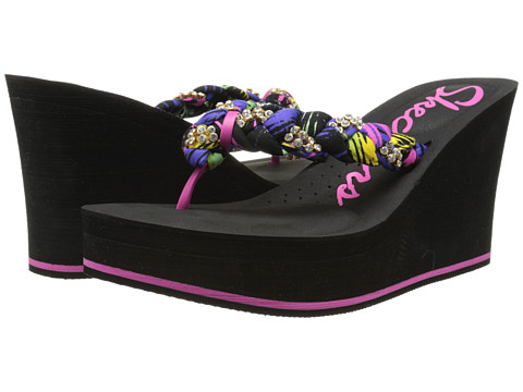 SKECHERS - Cabanas-Beach Bag (Purple Multi) Women's Shoes