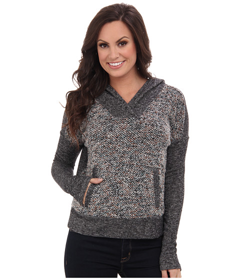 Lucky Brand - Sweater Mixed Hoodie (Multi) Women