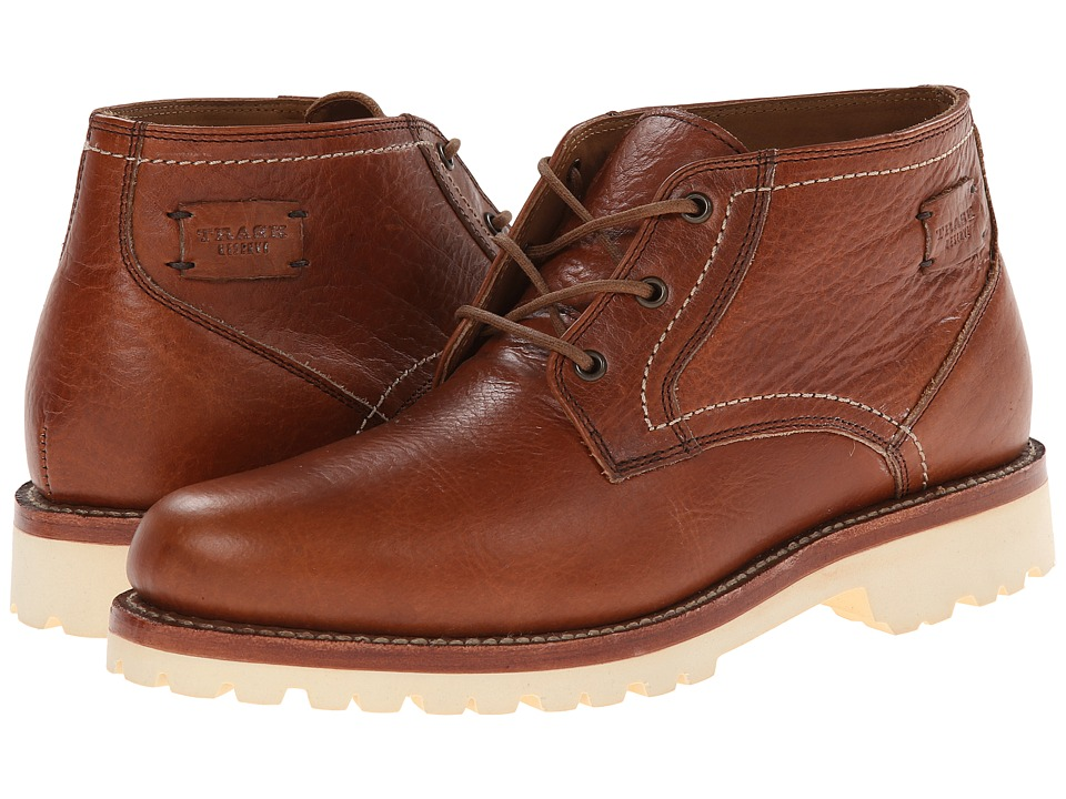 Trask - Buckhorn (Saddle Tan American Bison) Men's Lace-up Boots