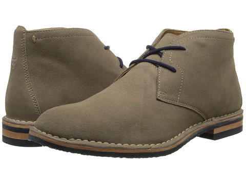 Trask - Brady (Grey Water Resistant Suede) Men's Shoes