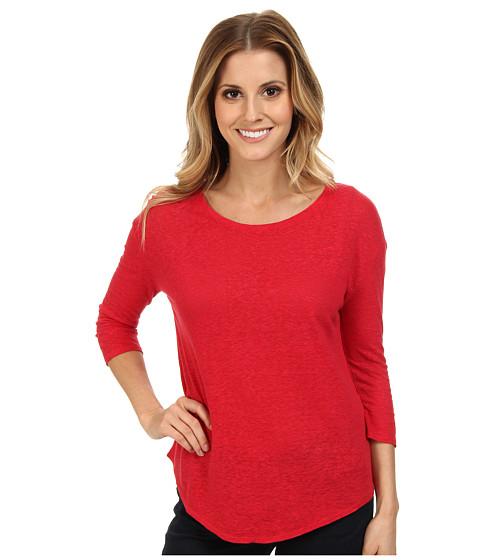 Lucky Brand - Slouchy Tee (Lipstick Red) Women's T Shirt