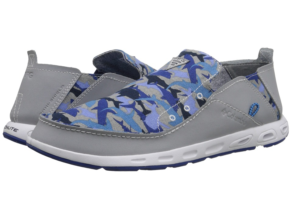 Columbia - Bahama Vent - PFG Print (Columbia Grey/Azul) Men's Shoes