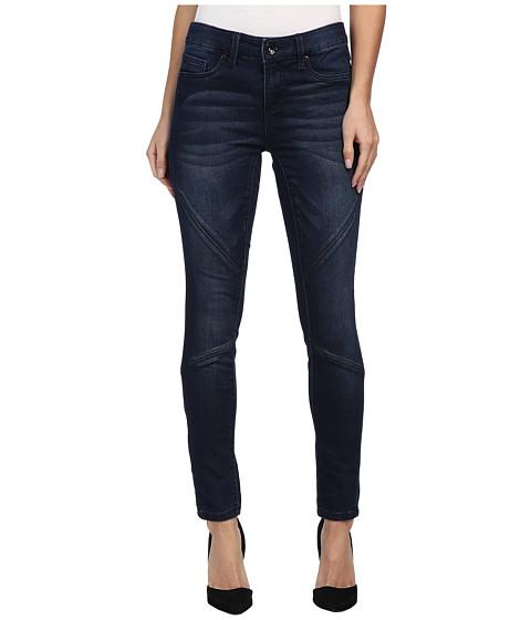 Seven7 Jeans - Knit Denim Moto Legging in Mayday Blue (Mayday Blue) Women's Jeans