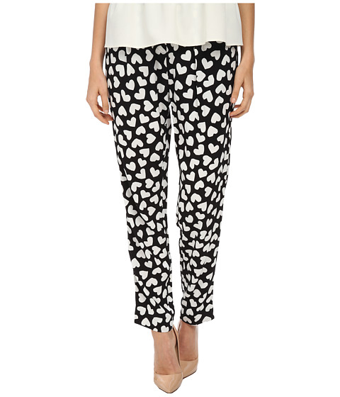 Kate Spade New York - Dancing Hearts Ria Pant (Black/Cream) Women