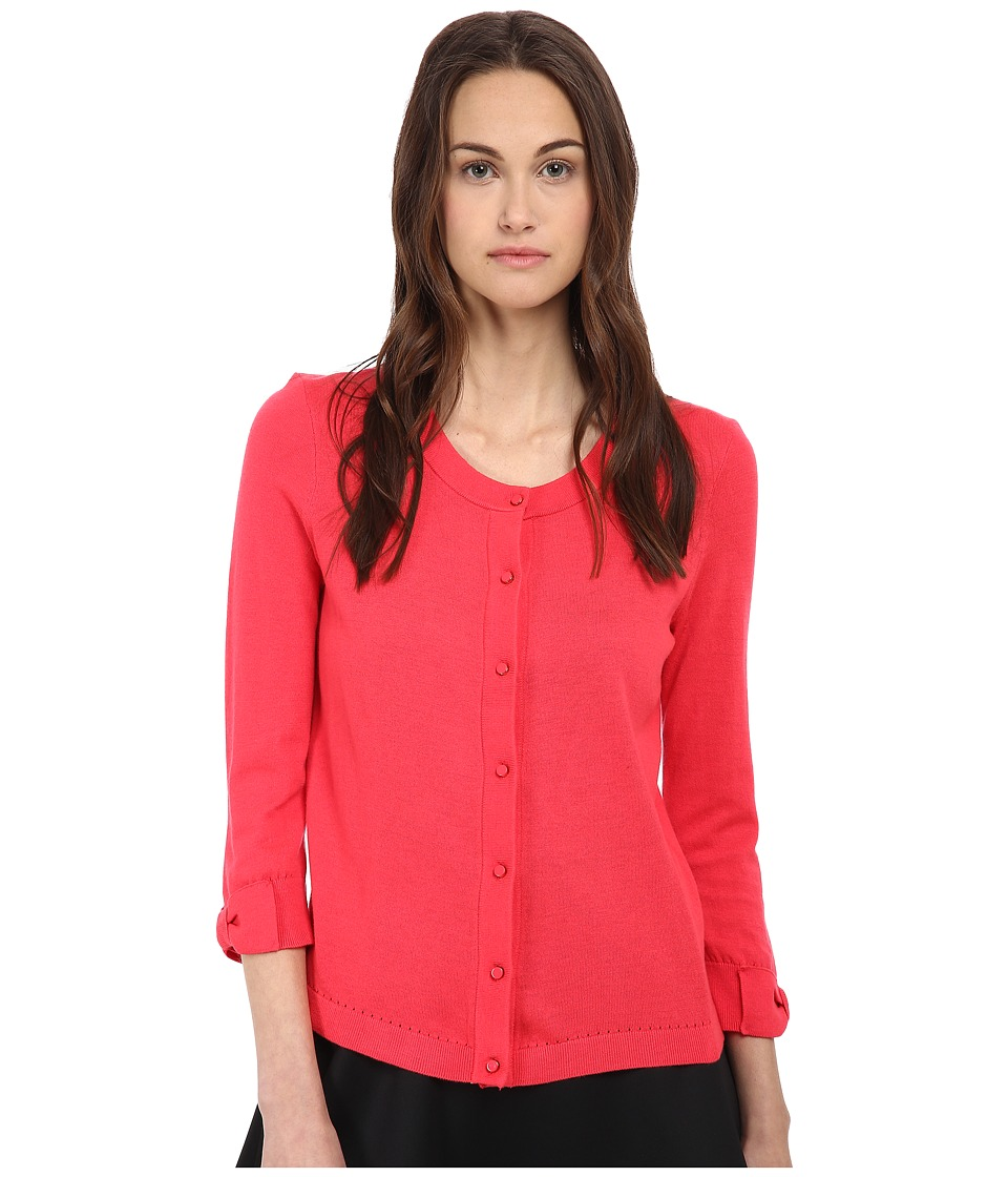 Kate Spade New York - Somerset Cardigan (Geranium) Women's Sweater
