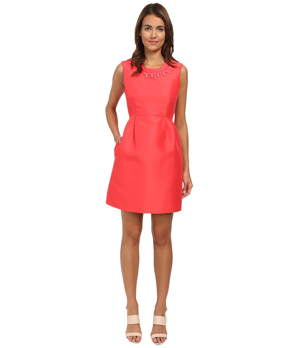 Kate Spade New York - Embellished Mindy Dress (Geranium) Women's Dress