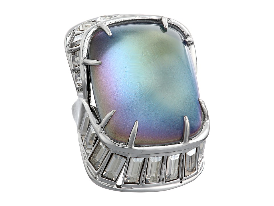 Alexis Bittar - Baguette Barrel Ring (Opalescent) Ring