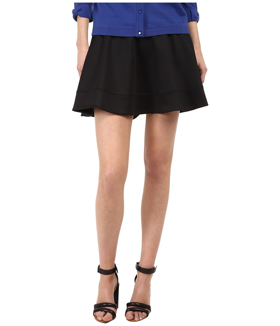 Kate Spade New York - Scuba Circle Skirt (Black) Women's Skirt