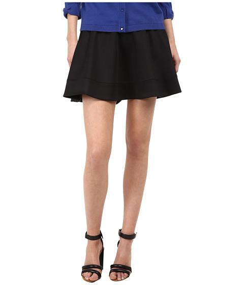 Kate Spade New York - Scuba Circle Skirt (Black) Women's Skirt