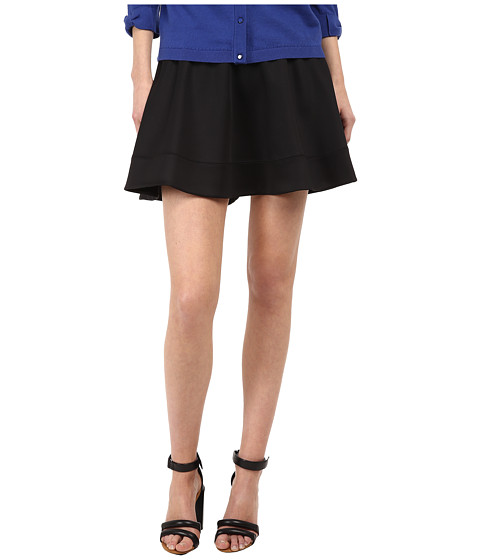 Kate Spade New York - Scuba Circle Skirt (Black) Women