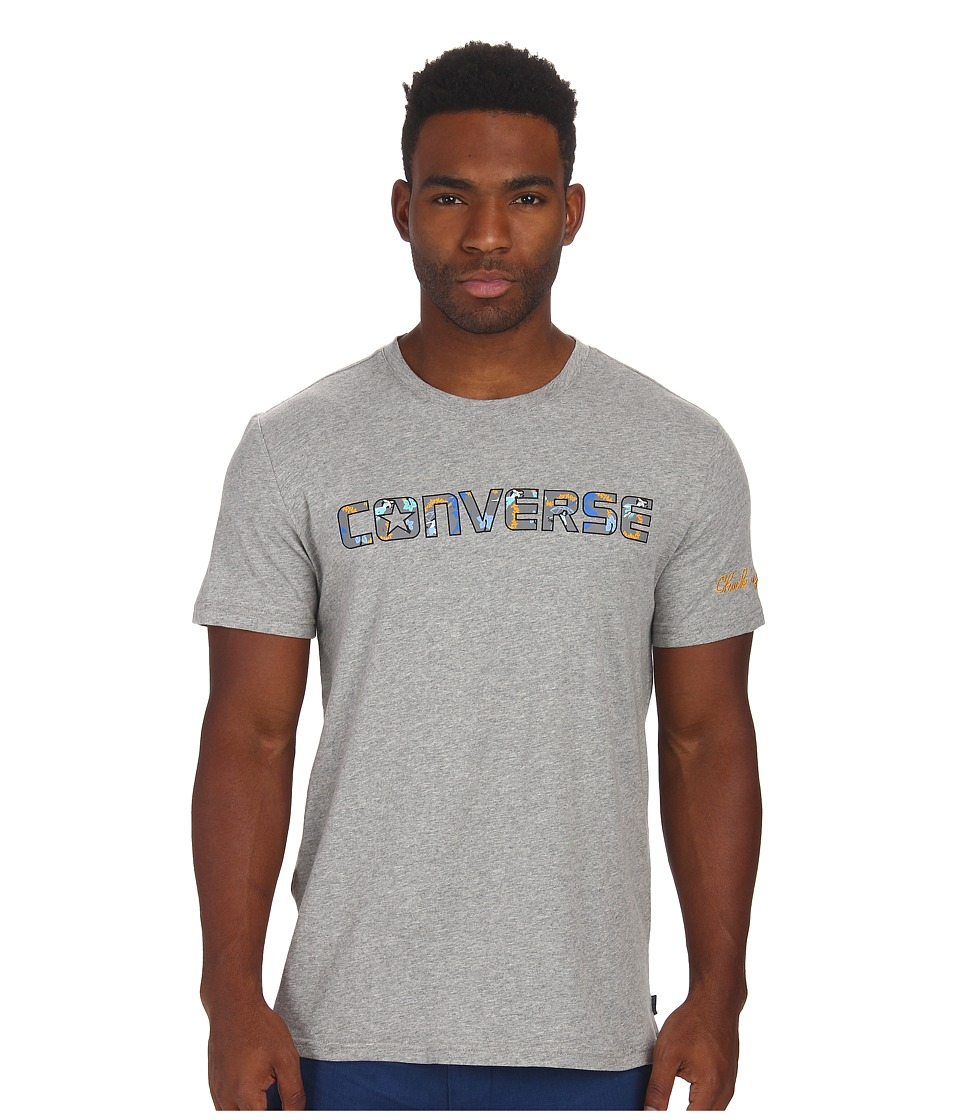 Converse - Printed Tee (Heather Grey) Men's T Shirt