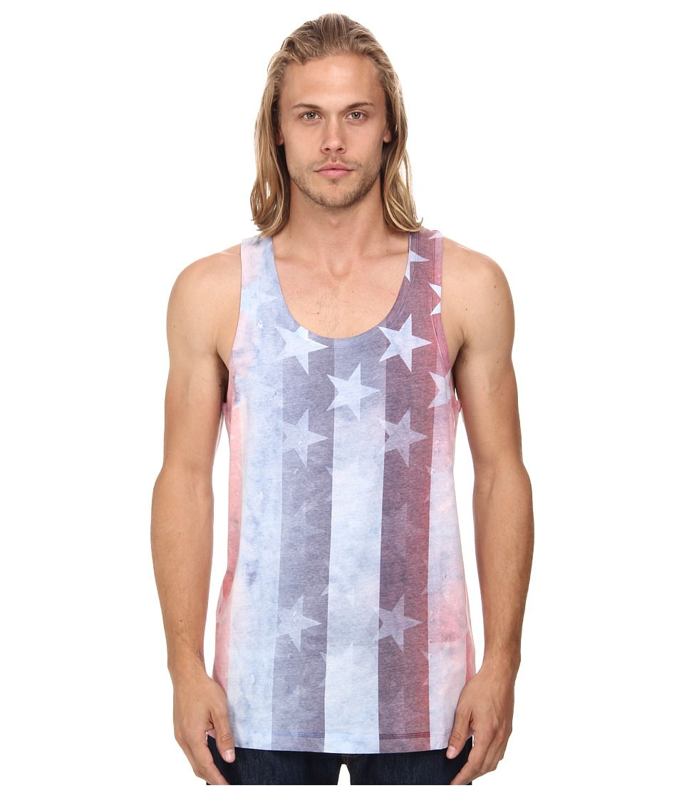 Converse - Sub Americana Print Tank Tee (Converse White) Men
