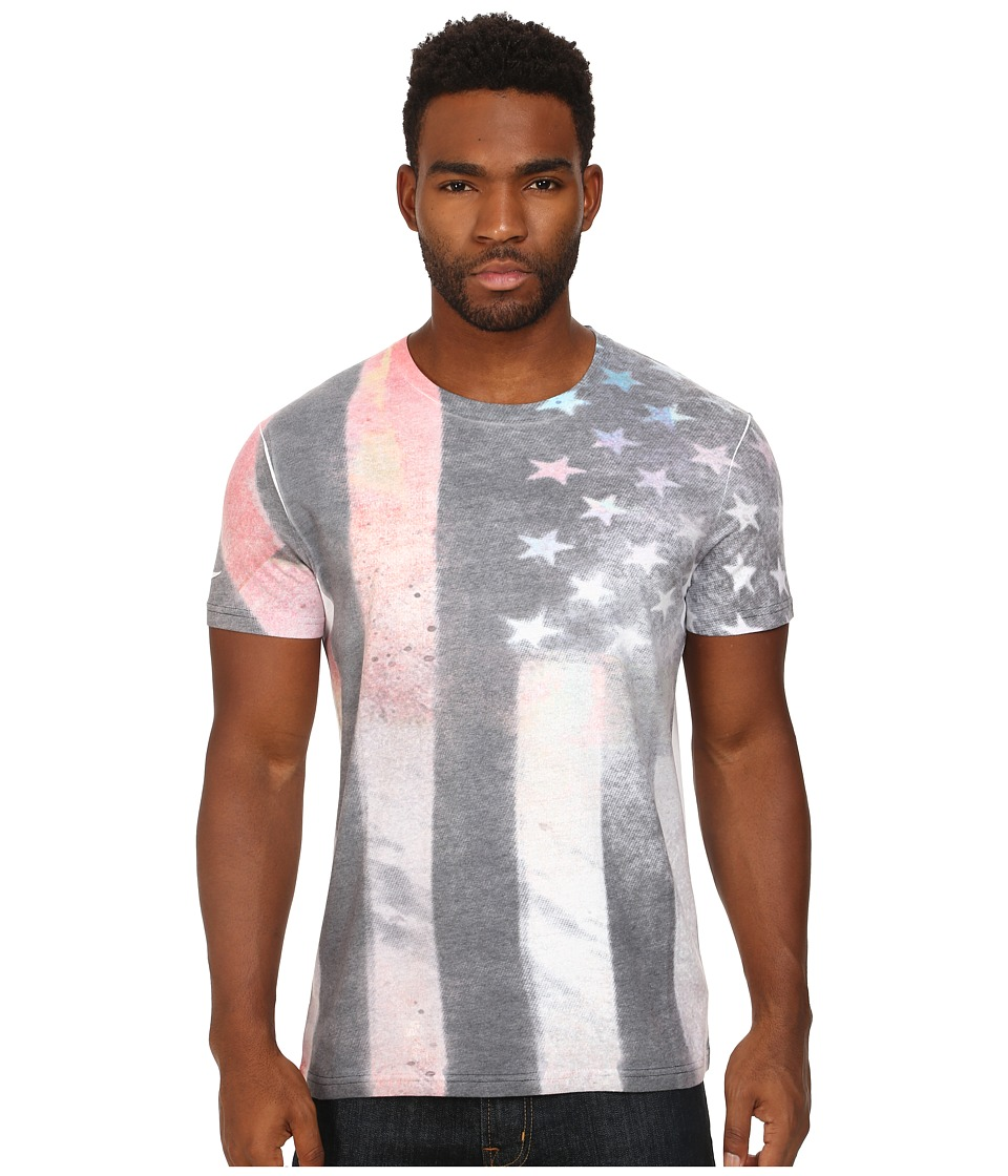 Converse - Sub Flag Crew Tee (Converse Black) Men's T Shirt
