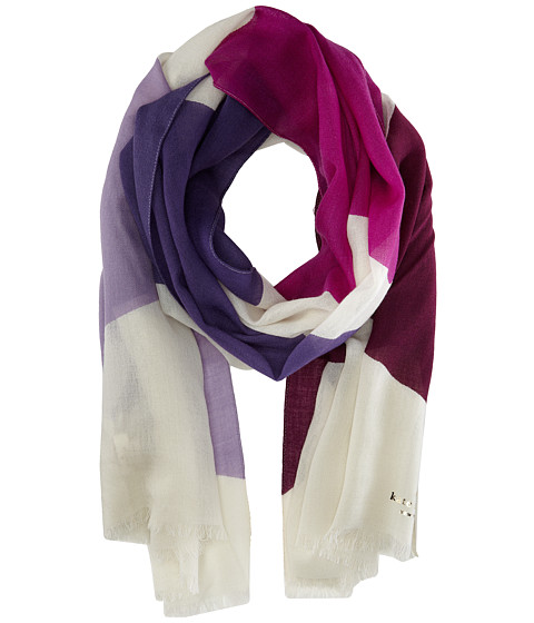 Kate Spade New York - Abstract Bow Scarf (Foxglove) Scarves
