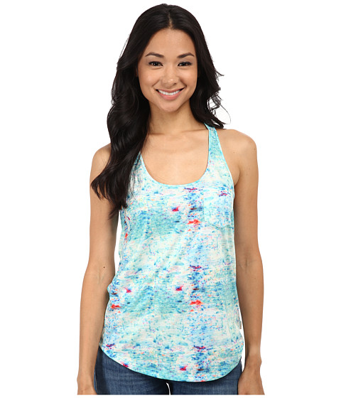 Converse - Streaming Color Tank (Peacock Heather) Women's Sleeveless