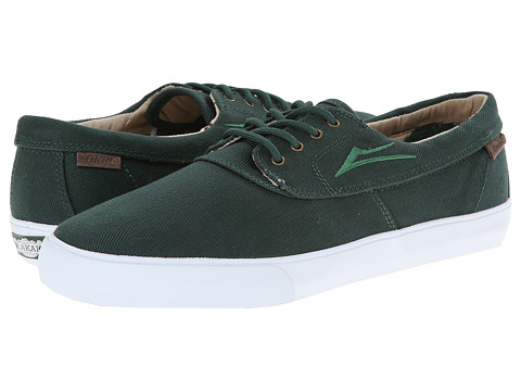 Lakai - Camby (Emerald Duck Print Canvas) Men's Skate Shoes